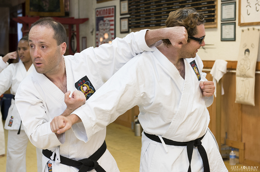 This picture was taken during a Karate special event in South Florida.