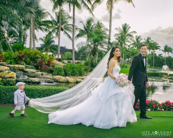 Read more about the article A Destination Wedding at The Polo Club, Boca Raton FL