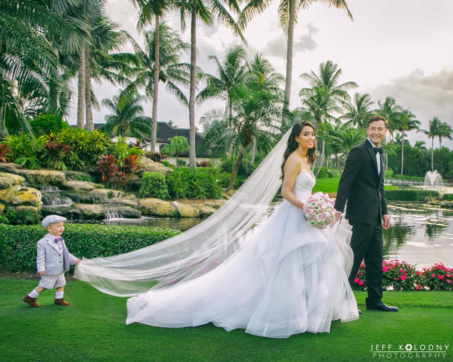 A Destination Wedding at The Polo Club, Boca Raton FL