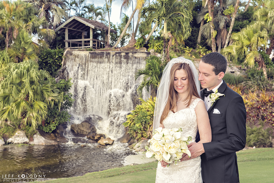 """(Photo & Video) from """"The Falls Club""""  A beautiful Lake Worth wedding venue."""