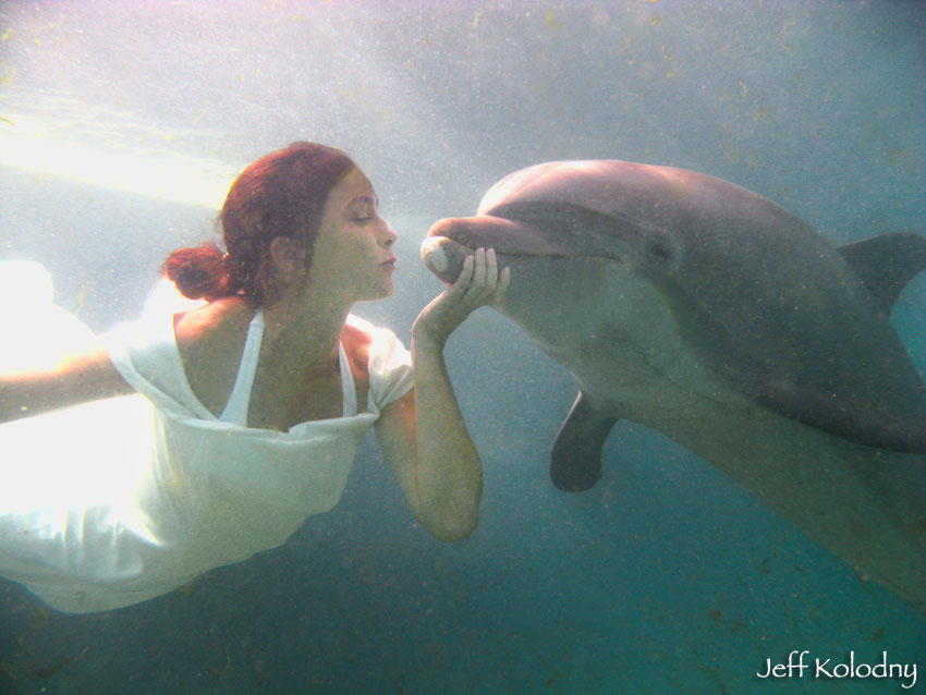 As a Miami advertising photographer, I was thrilled to shoot this ad for Miami Seaquarium.