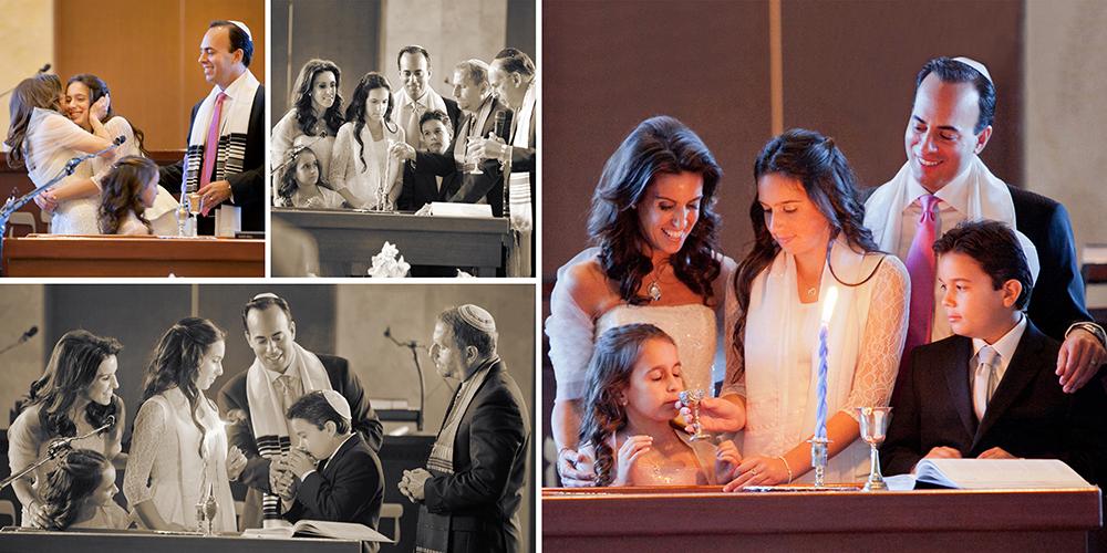 Bat mitzvah pictures captured at Congregation Kol Tikvah
